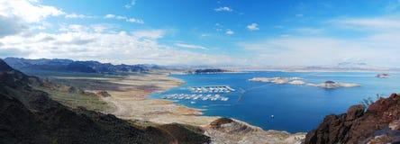панорама mead озера стоковое изображение
