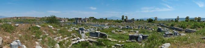 панорама miletus стоковое изображение rf