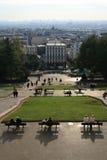 панорама montmartre Стоковые Изображения