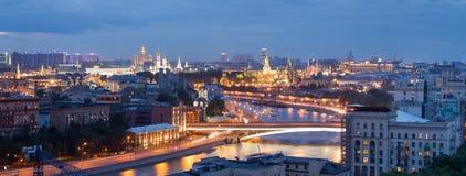 панорама moscow Стоковое Изображение