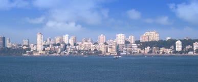 панорама mumbai Стоковое Изображение RF