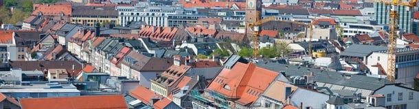 панорама munich стоковое фото