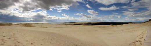 панорама nida Стоковое Изображение RF