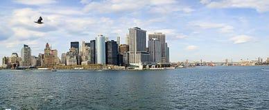 панорама nyc Стоковое Изображение RF