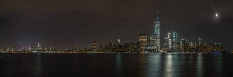 Панорама NYC Стоковые Фото