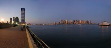 панорама nyc Стоковое Фото