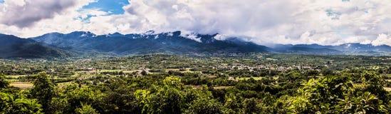 Панорама Pai Maehongson Стоковая Фотография RF