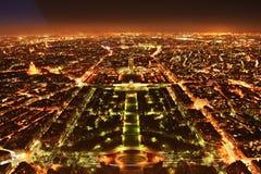 панорама paris Стоковая Фотография RF
