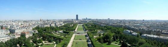 панорама paris Стоковая Фотография