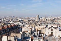 панорама paris Стоковое фото RF