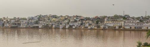 Панорама Pushkar Стоковые Изображения