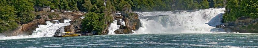 Панорама Rhine Falls Стоковое Фото
