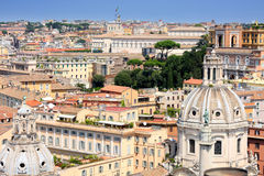 панорама rome Италии Стоковое Изображение RF