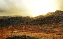 Панорама Snowdonia Стоковое Изображение RF