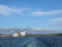 панорама stavanger стоковое изображение