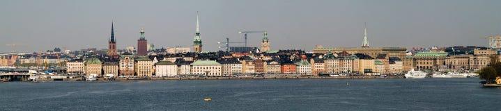 панорама stockholm Стоковые Фото