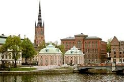 панорама stockholm Стоковые Изображения