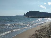 Панорама Terracina прибрежная Стоковые Фотографии RF