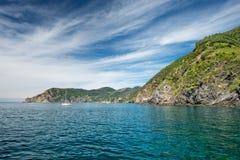 Панорама terre cinque Monterosso стоковые изображения rf