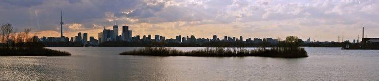 панорама toronto стоковые фото