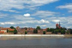 панорама torun стоковое фото
