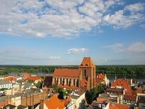 панорама torun стоковая фотография