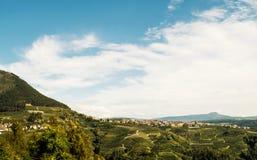 Панорама Trentino Стоковые Изображения RF