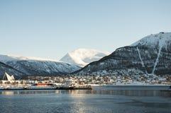Панорама Tromso Стоковое Изображение