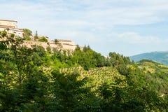 Панорама Urbino. стоковое изображение rf