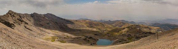 Панорама v сьерра-невады Стоковые Изображения