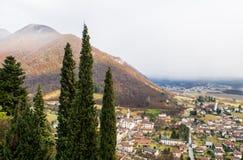 Панорама Valmareno Стоковое Изображение RF