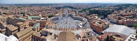 панорама vatican Стоковое Изображение RF