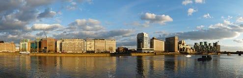 Панорама Vauxhall Лондона Стоковое Изображение RF