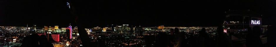 панорама vegas las стоковое изображение rf