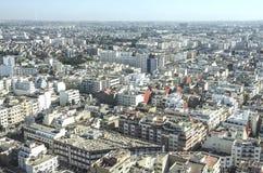панорама zagreb Хорватии города капитолия casablanca Марокко вышесказанного Стоковое фото RF