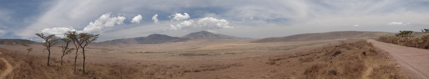 панорамная глушь взгляда валов Стоковое Фото