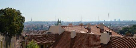 Панорамная Прага стоковые фото