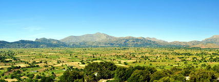 панорамная долина Стоковая Фотография