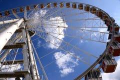 Панорамное колесо (ferris) Стоковая Фотография RF