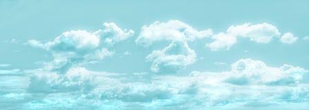 Панорамное небо - состав сделанный нескольких изображений Стоковые Фото