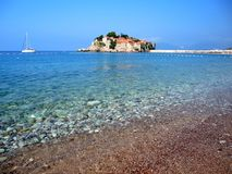 Панорамное фото острова St Stephen Стоковое Изображение RF