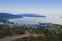 Панорамное фото Marmari Стоковые Фотографии RF