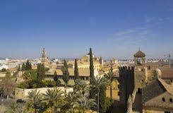Панорамно города Cordoba стоковые фото