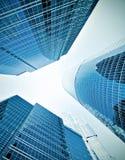 Панорамно стеклянного здания Стоковая Фотография RF