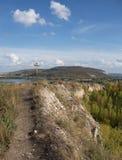 Панорамные взгляды River Valley Стоковая Фотография RF