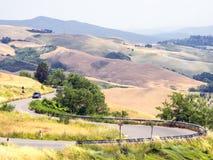 Панорамные взгляды tuscan-Emilian Apennines Стоковые Изображения RF