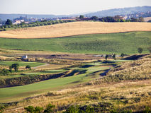 Панорамные взгляды tuscan-Emilian Apennines Стоковые Изображения