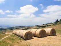 Панорамные взгляды tuscan-Emilian Apennines Стоковая Фотография RF