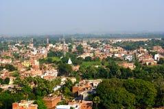 Панорамные взгляды  r Индии BihÄ Стоковое фото RF