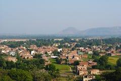 Панорамные взгляды  r Индии BihÄ Стоковое Изображение RF